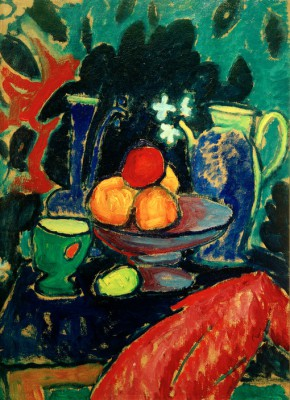 Still life with pot - Aleksiej Jawlensky