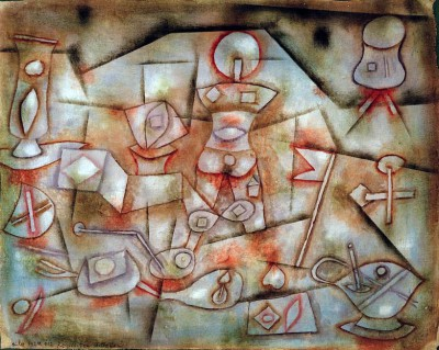 Still-life with Props - Paul Klee