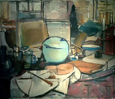 Stilleben mit Ingwertopf I - Piet Mondrian