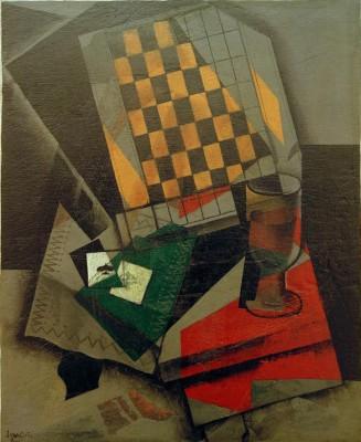Stillleben mit Spielkarten - Juan Gris