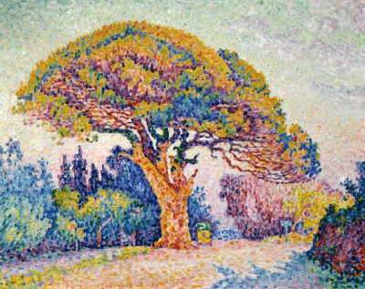 Stone pine in Saint-Tropez - Paul Signac