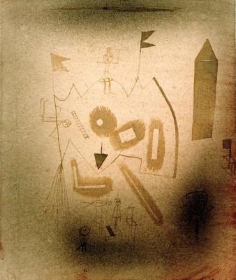 Strange Theatre - Paul Klee