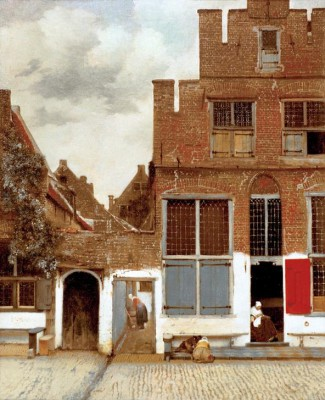 Street in Delft - Jan Vermeer