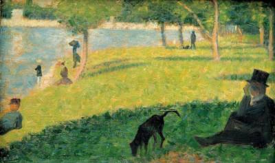 Studdy for Un dimanche après-midi à la Grande Jatte - Georges-Pierre Seurat
