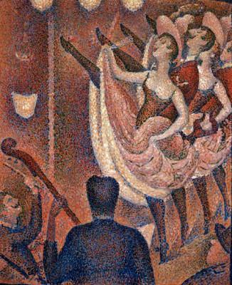 Studie für Le Chahut - Georges-Pierre Seurat