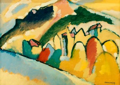 Studie zu Herbst I - Wassily Kandinsky