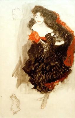 STUDIE ZU JUDITH II - Gustav Klimt