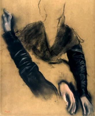 Study of Madame Camus at the piano - Edgar Degas