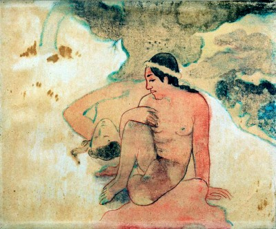 """Study to """"Aha oe feii"""" - Paul Gauguin"""