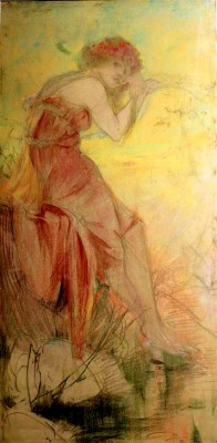 Summer - Alfons Mucha