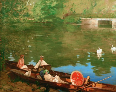 Summer on the River - John Lavery