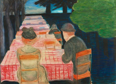 Sunday afternoon - Marianne von Werefkin
