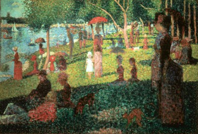 Sunday Afternoon on La Grande Jatte - Georges-Pierre Seurat