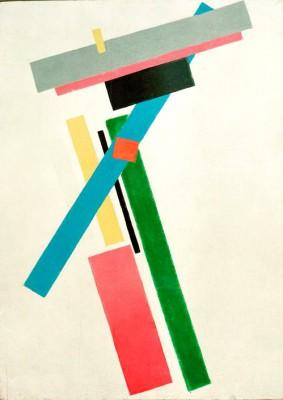 Suprematism (3) - Kazimierz Malewicz