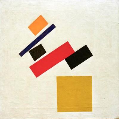 Suprematism (4) - Kazimierz Malewicz