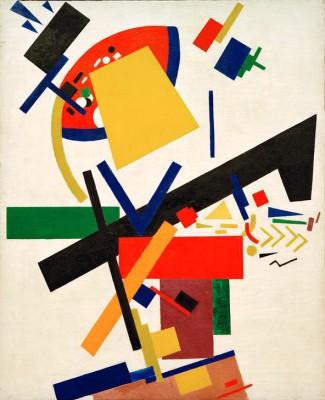 Suprematism (7) - Kazimierz Malewicz