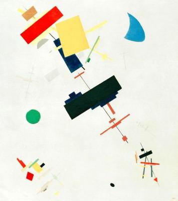 Suprematism (8) - Kazimierz Malewicz