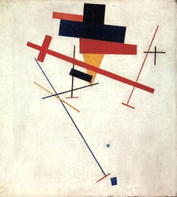 Suprematist Composition (3) - Kazimierz Malewicz