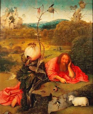 Św. Jan Chrzciciel na pustkowiu - Hieronim Bosch