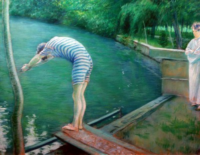 Swimmers - Gustave Caillebotte