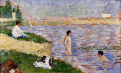 Swimming at Asnières - Georges-Pierre Seurat