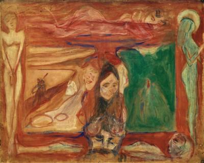Symbolic study - Edvard Munch