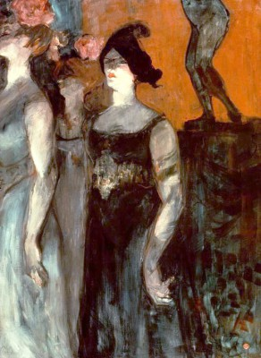 "Szene aus der Oper ""Messaline"" von Isidore de Lara - Henri de Toulouse-Lautrec"