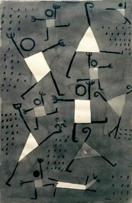 Tänze vor Angst - Paul Klee