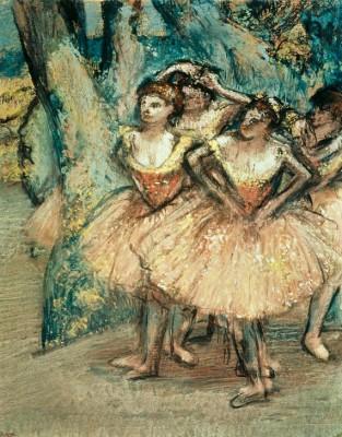 Tänzerinnen in Rosa - Edgar Degas