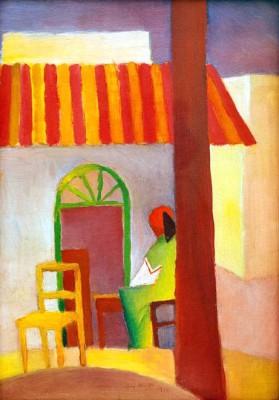 Türkisches Cafe I - August Macke
