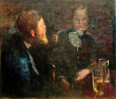 Tête-à-tête - Edvard Munch
