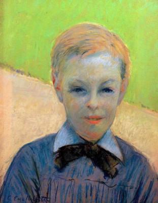 Tête d'enfant, dit aussi Portrait de Camille Daurelle - Gustave Caillebotte