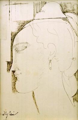 Tête de femme (2) - Amedeo Modigliani