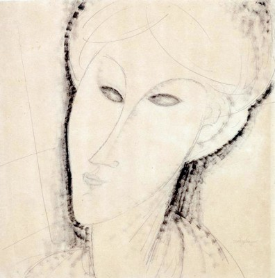 Tête de Femme - Amedeo Modigliani