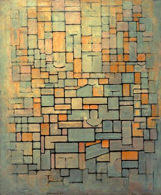 Tableau No. 1; Composition No. 1; Compositie 7 - Piet Mondrian
