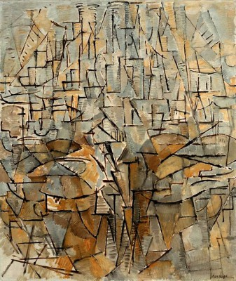 Tableau No. 4; Composition No. VIII; Compositie 3 - Piet Mondrian