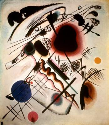 Tache noire - Wassily Kandinsky