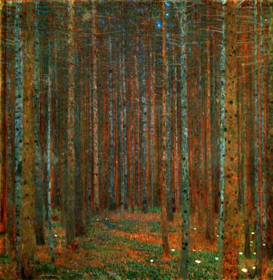 TANNENWALD I - Gustav Klimt