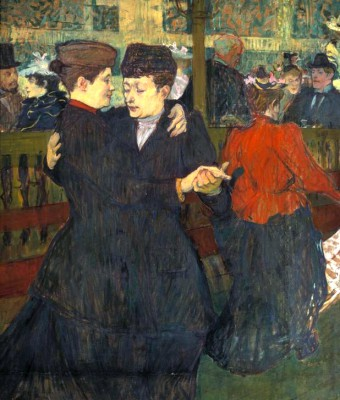 Tanz im Moulin Rouge - Henri de Toulouse-Lautrec