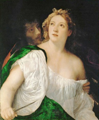Tarquin and Lucretia - Tycjan