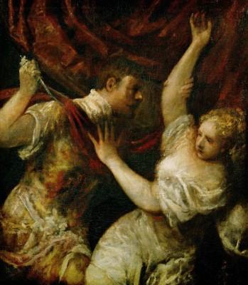 Tarquinius and Lucretia (3) - Tycjan