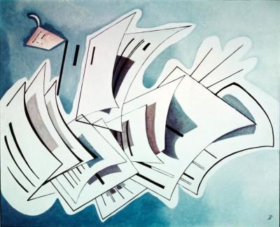 Tension légère - Wassily Kandinsky