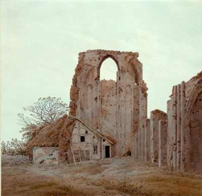 The abbey Eldena near Greifswald - Caspar David Friedrich