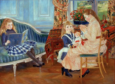 The afternoon of the children in Wargemont - Pierre Renoir