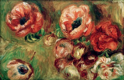 The Anemones - Pierre Renoir