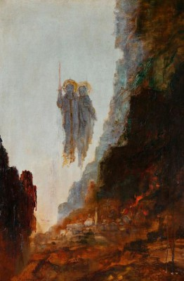 The angels of Sodom - Gustave Moreau