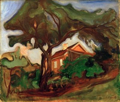 The apple tree - Edvard Munch