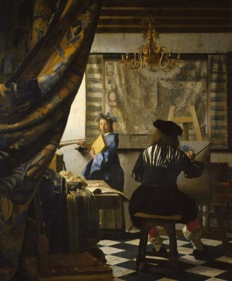 The Art of Painting - Jan Vermeer