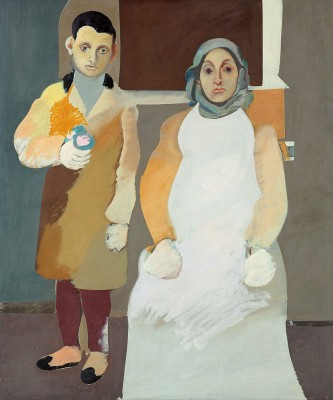 The Artist and His Mother - Arshile Gorky