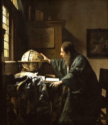 The Astronomer - Jan Vermeer